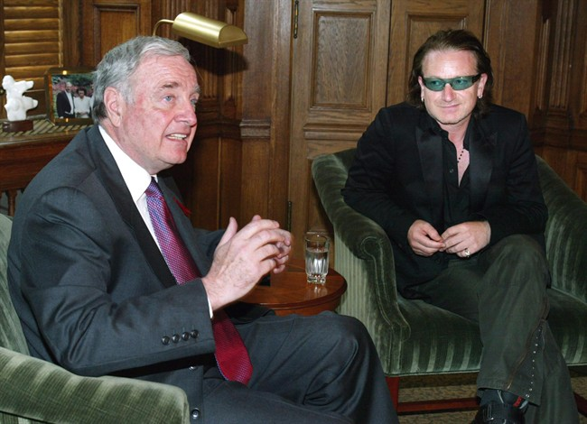 Bono - Paul Martin