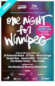 One Night for Winnipeg