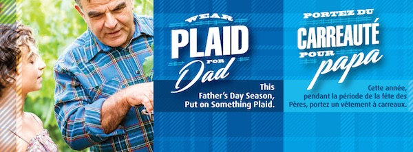 Wear Plaid for Dad