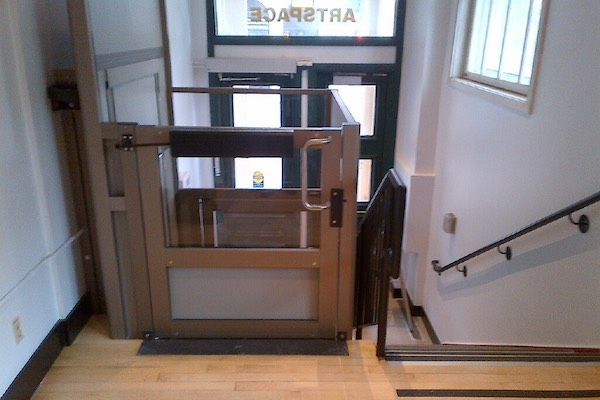 Artspace Wheelchair Lift