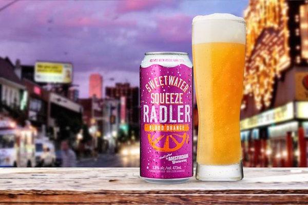 Amsterdam Brewery's Sweetwater Blood Orange Radler