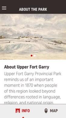 Upper Fort Garry App
