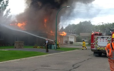 Two Homes Destroyed by Explosion in Virden