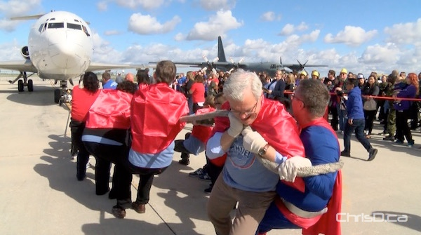 Greg Selinger - United Way Plane Pull