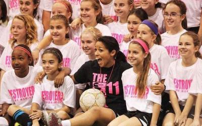 Desiree Scott Returning to Lead KidSport Soccer Camp