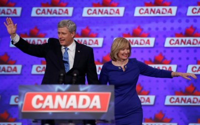 Harper Steps Down as Leader as Conservatives Reduced to Opposition Status