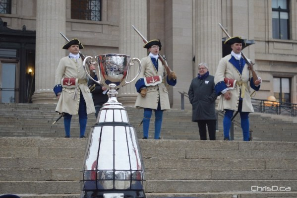 Grey Cup Arrival