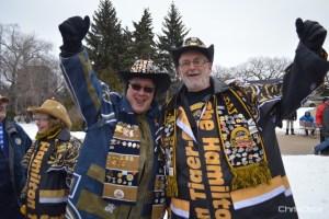 Grey Cup Fans