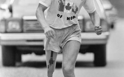 Celebrate Terry Fox on Monday at the Manitoba Museum