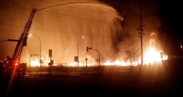 Waverley Street Fire
