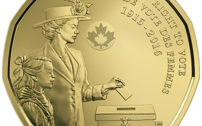 Mint Honours Women's Right to Vote in New $1 Coin