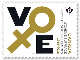 Women's Suffrage Stamp