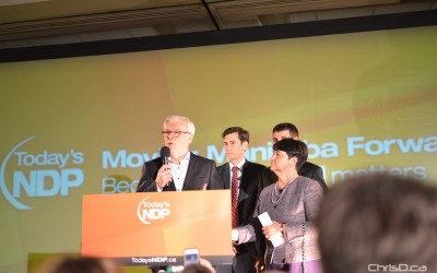 NDP Leader Greg Selinger Resigns, Will Stay on as MLA