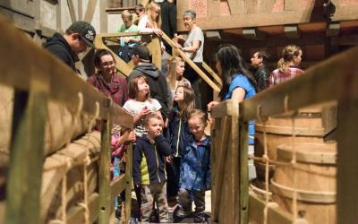 Record Crowd of Nearly 10,000 Head to Museum on Manitoba Day