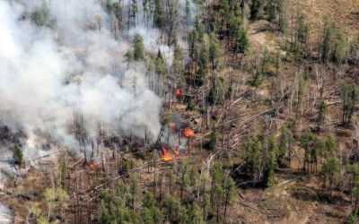 Cold Weather Slows Manitoba Wildfires