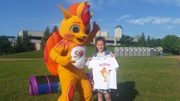 Niibin - 2017 Canada Summer Games Mascot