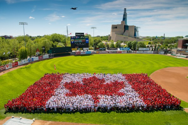 Canada Day Living Flag 2016