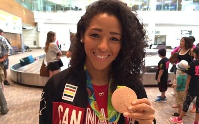Olympians Desiree Scott, Justin Duff Return Home to Winnipeg