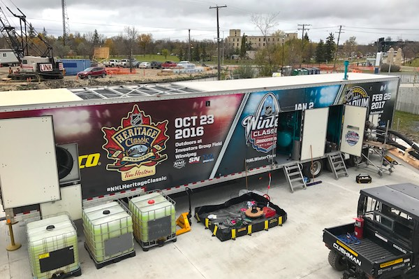 NHL Ice Truck - Heritage Classic