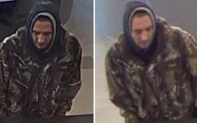 Suspect Sought in Starbuck Bank Robbery
