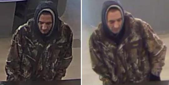 Starbuck Robbery Suspect
