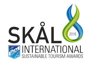 2016 Skal Sustainable Tourism Award