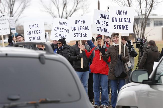 UMFA Strike