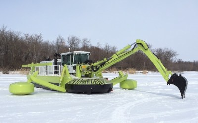 Manitoba Awards New Contract for Ice-Jam Mitigation