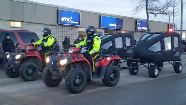 RCMP Transport Pods