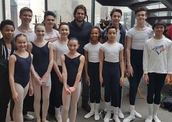 Henry Cavill - Royal Winnipeg Ballet