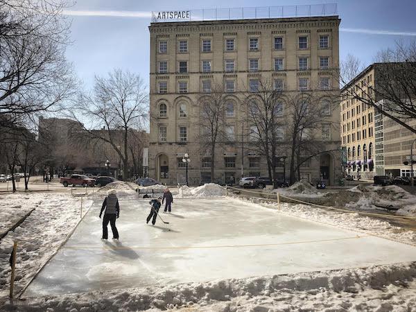 Old Market Square Skating Rink