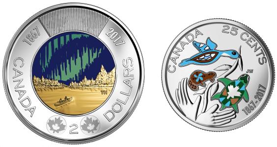 Canada 150 Coins