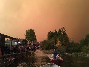 Manitoba Wildfire