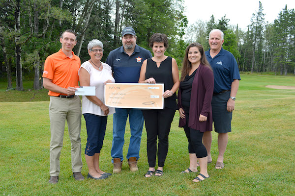 Sunova Credit Union Golf Donation