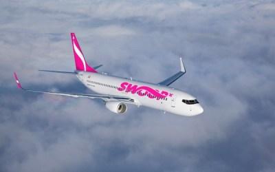 Swoop Airlines Flies Winnipeg-Hamilton Route as Part of Winter Schedule