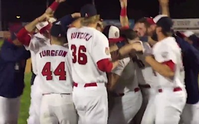 Goldeyes Fish Fry Wingnuts to Clench American Association Championship