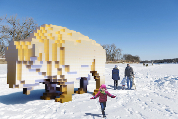 Golden Bison - Warming Hut