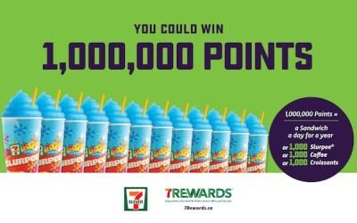 CONTEST: 1,000 Slurpees?! Win 1 Million 7Rewards Points