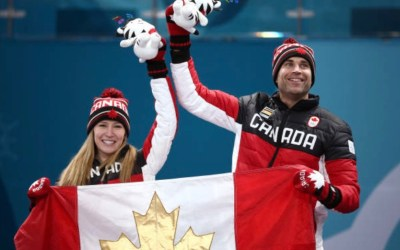 Canada's Kaitlyn Lawes, John Morris Defeat Switzerland to Win Mixed Doubles Gold Medal