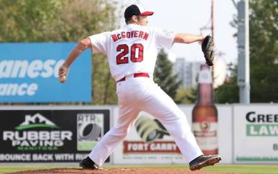 Goldeyes Re-Sign 'Strikeout King' Kevin McGovern