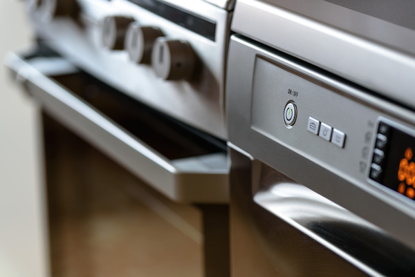 Kitchen Appliances - Stove Dishwasher
