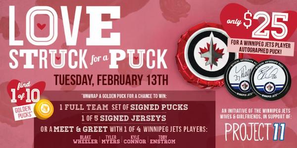 Love Struck for a Puck - Winnipeg Jets