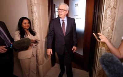 Former Manitoba Premier Greg Selinger Leaves Legislature for the Last Time