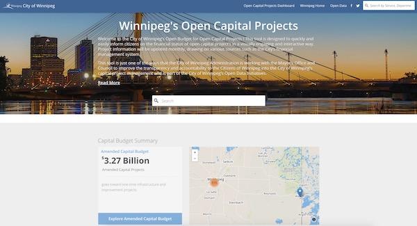 Winnipeg Open Capital Projects