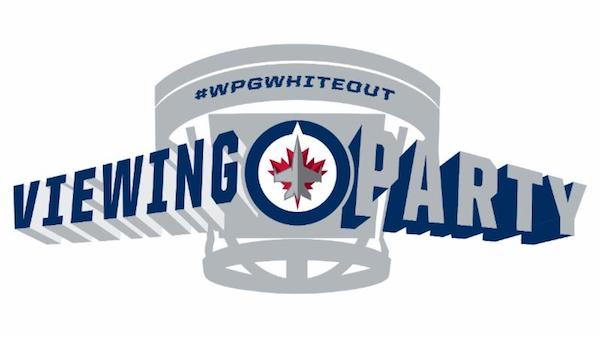 Winnipeg Jets Whiteout Viewing Party