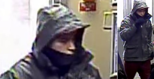 North Point Douglas Robbery Suspect