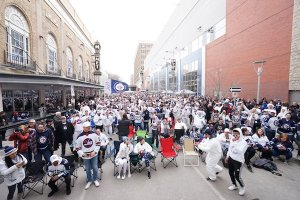 Winnipeg Jets Whiteout Street Party