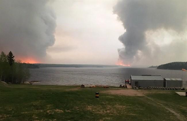 Little Grand Rapids Fire