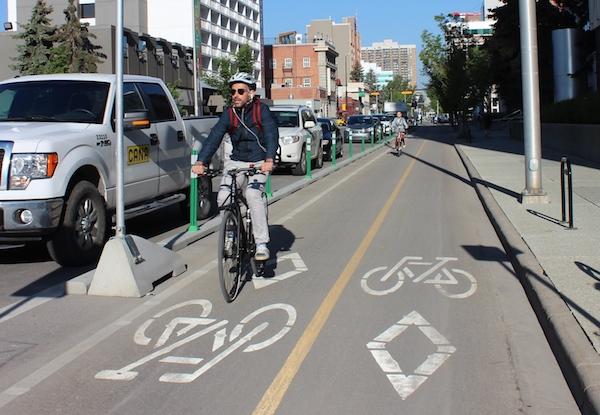 Adjustable Bike Lane