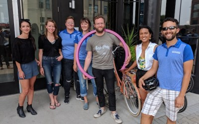 More Downtown Winnipeg Businesses Becoming Bike-Friendly